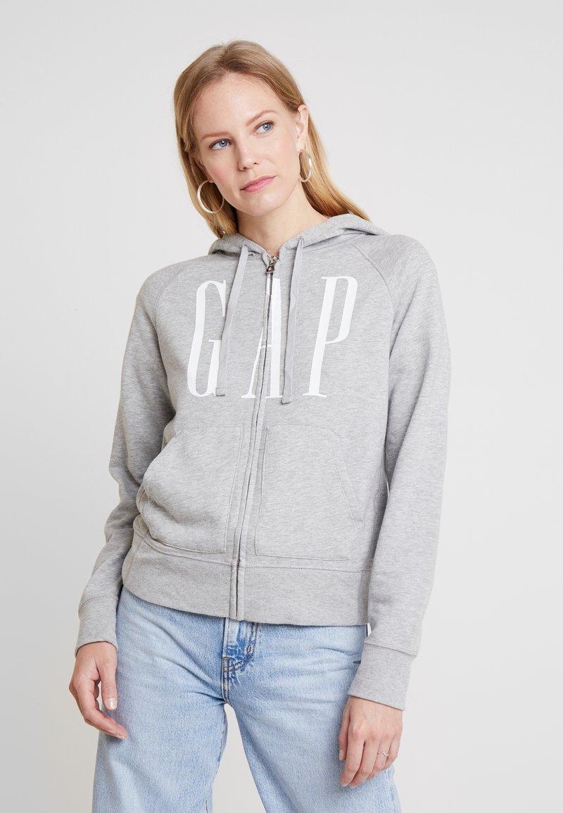 GAP - Mikina na zip - light heather grey