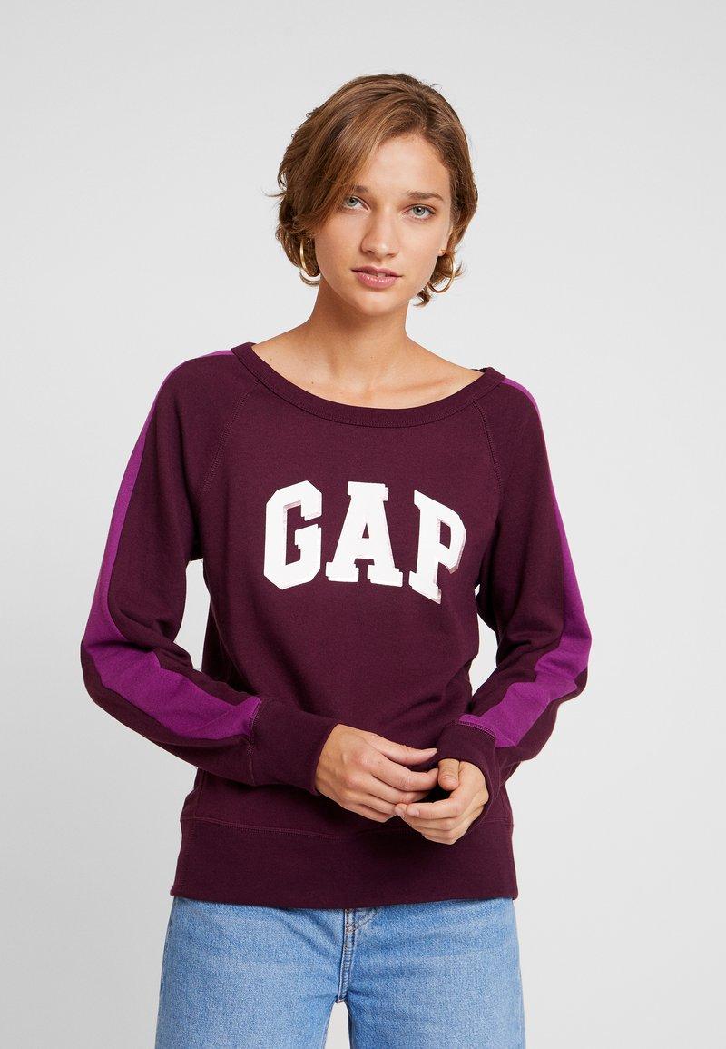 GAP - SHADOW - Sweatshirt - secret plum