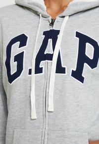 GAP - Lett jakke - grey heather - 3