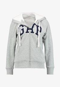 GAP - Lett jakke - grey heather - 4