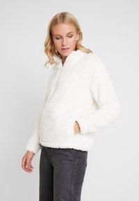 GAP - SHERPA HALFZIP - Fleece jumper - snowflake milk - 0