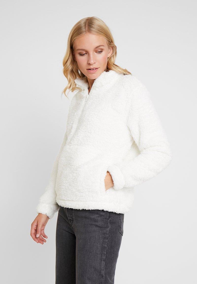 GAP - SHERPA HALFZIP - Fleece jumper - snowflake milk