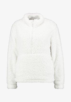 SHERPA HALFZIP - Forro polar - snowflake milk