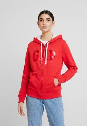 SHERPA - Zip-up hoodie - ribbon red