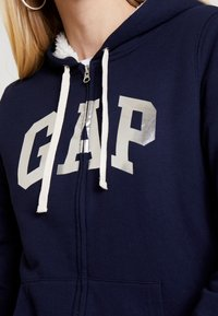 GAP - SHERPA - Hettejakke - navy uniform - 4