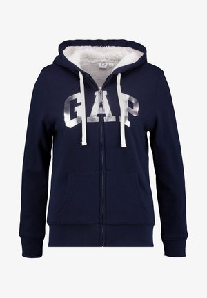 SHERPA - Zip-up hoodie - navy uniform