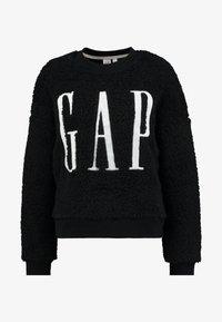 GAP - SHERPA - Sweatshirt - true black - 3
