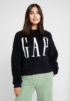 SHERPA - Sweatshirts - true black