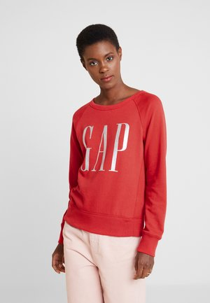 GLITTER - Sweatshirt - ribbon red