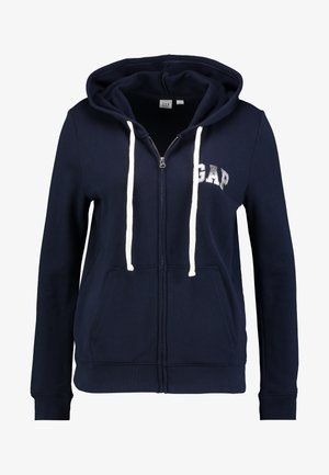 EMBROID - Sudadera con cremallera - navy uniform