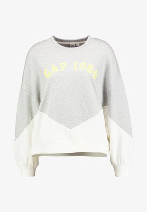 LOGO CROP - Sweatshirt - grey heather