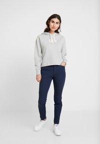 GAP - GAP MINI LOGO - Bluza z kapturem - light heather grey - 1