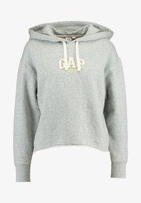 GAP - GAP MINI LOGO - Bluza z kapturem - light heather grey - 3