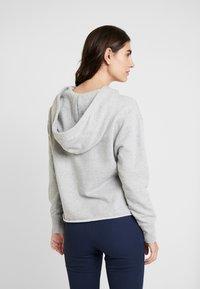 GAP - GAP MINI LOGO - Bluza z kapturem - light heather grey - 2