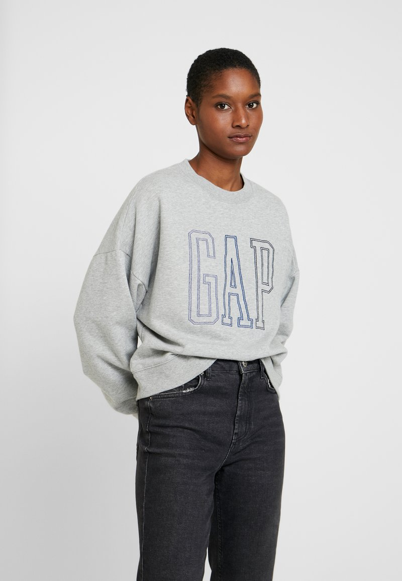 GAP - CREW - Sweatshirts - light heather grey