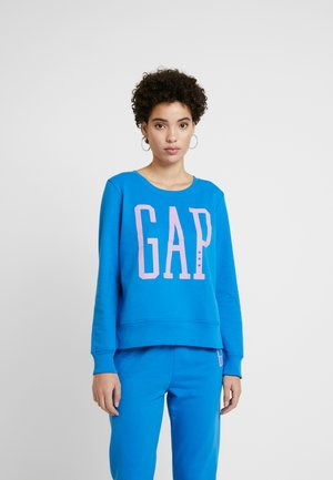 Sweatshirt - precious blue