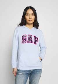 GAP - NOVELTY - Bluza z kapturem - pure blue - 0