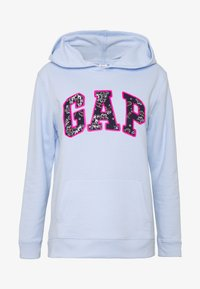 GAP - NOVELTY - Bluza z kapturem - pure blue - 4
