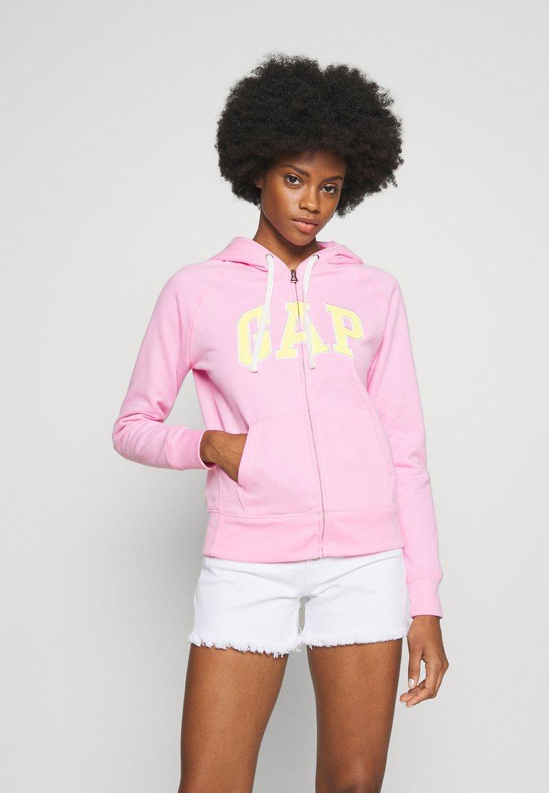 GAP - Mikina na zip - parisian pink