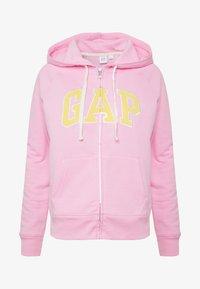 GAP - Mikina na zip - parisian pink - 4