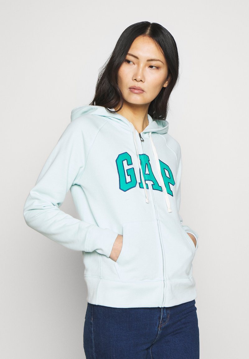GAP - Zip-up hoodie - azul