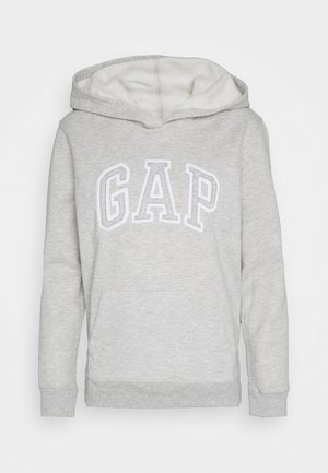 Bluza z kapturem - light heather grey