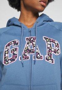 GAP - NOVELTY - Bluza rozpinana - bainbridge blue - 5