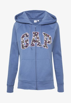 NOVELTY - Zip-up hoodie - bainbridge blue
