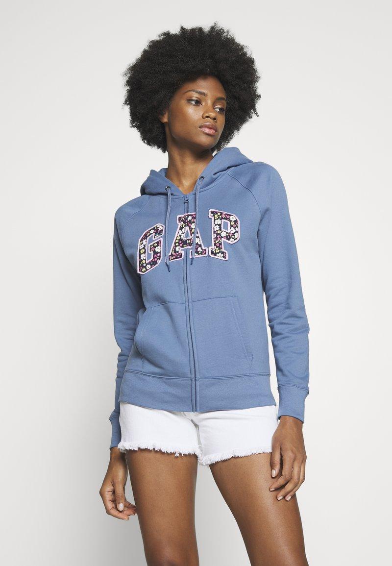 GAP - NOVELTY - Bluza rozpinana - bainbridge blue