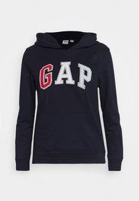 GAP - NOVELTY FILL - Bluza z kapturem - navy uniform - 0
