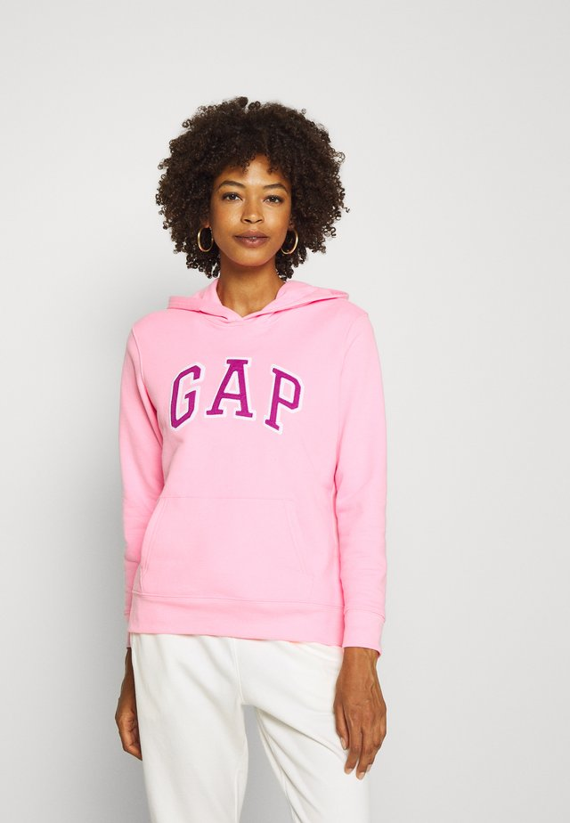 FASH - Bluza z kapturem - neon impulsive pink