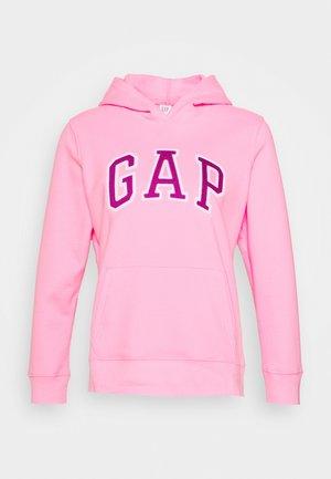Bluza z kapturem - neon impulsive pink