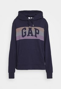 GAP - STRIPE - Bluza z kapturem - navy uniform - 4