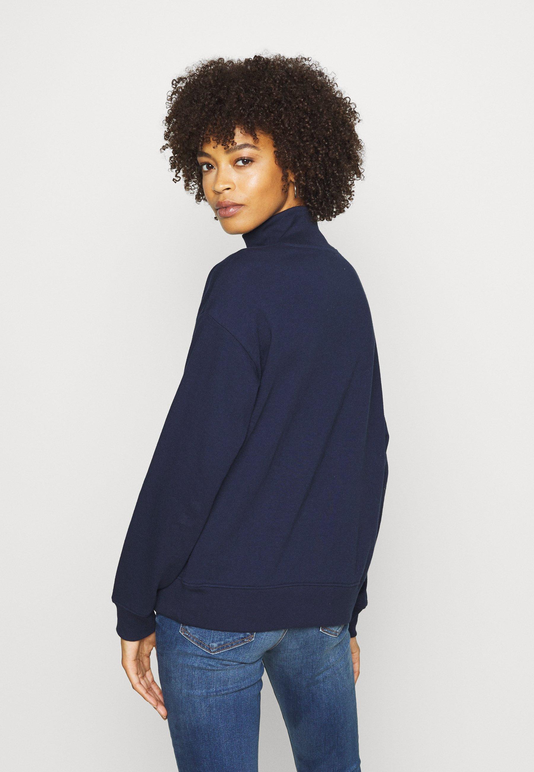 Gap Half Zip - Sweater Navy Uniform