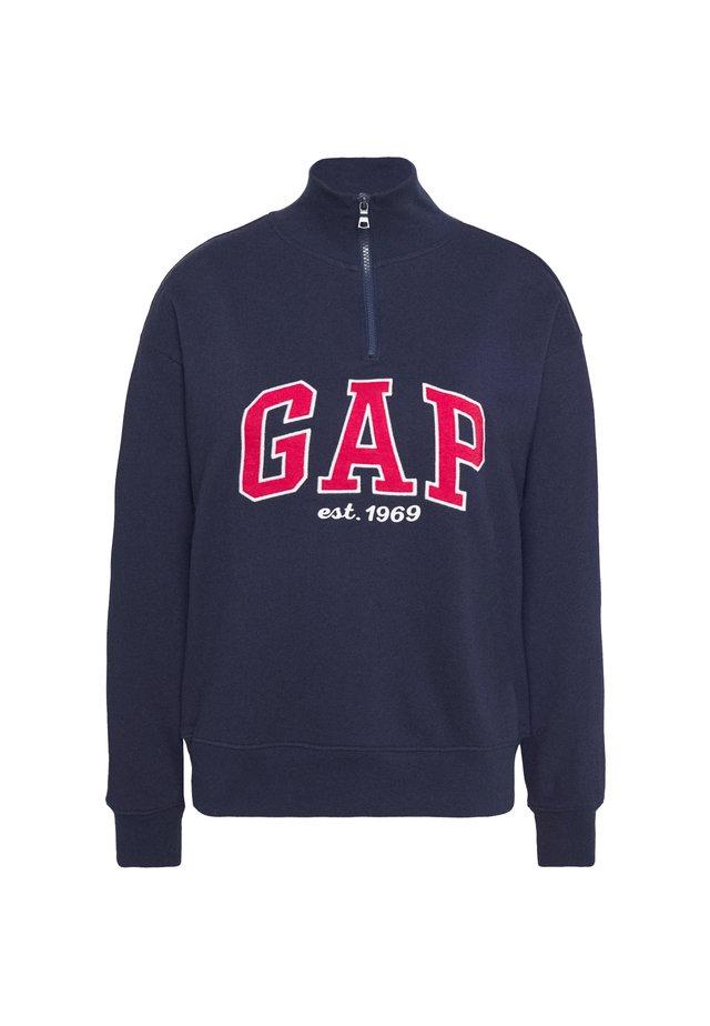 HALF ZIP - Sweatshirt - navy uniform