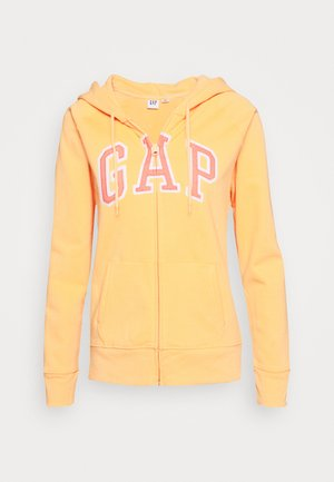FASH - Zip-up hoodie - icy orange