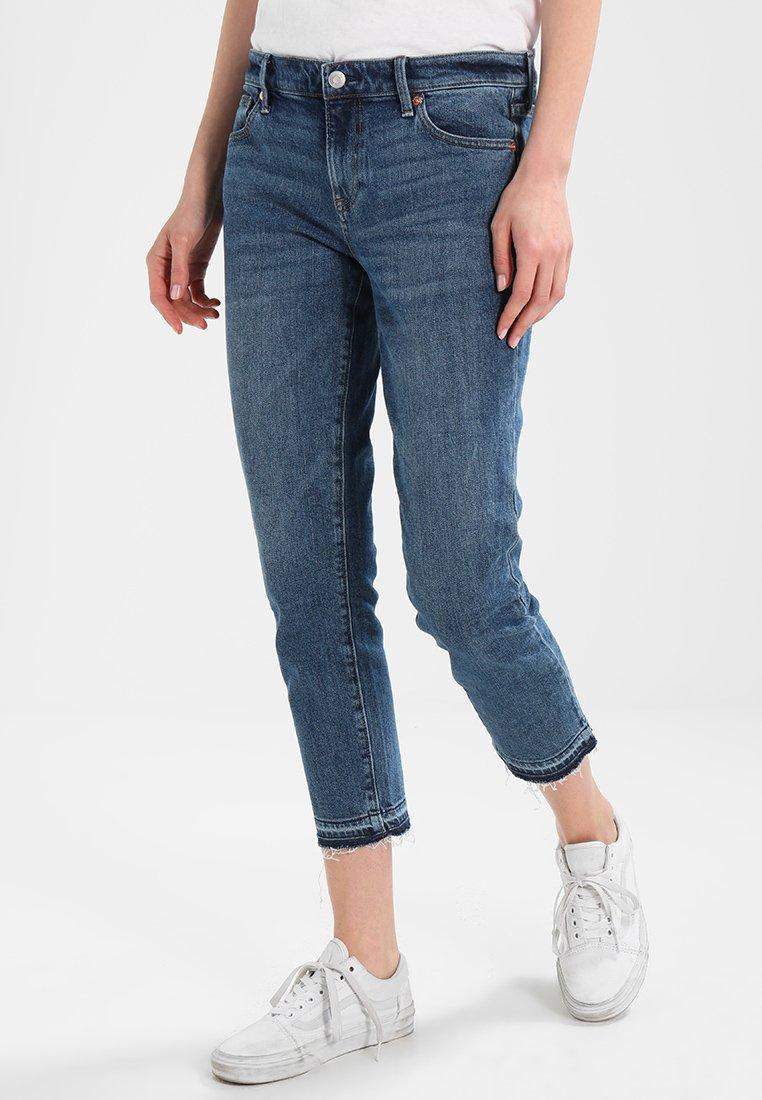 GAP - GIRLFRIEND ENDLESS SUMMER  - Relaxed fit jeans - dark indigo