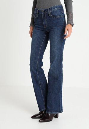 Bootcut jeans - dark indigo