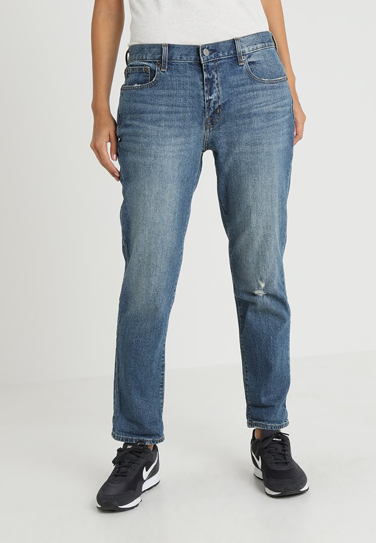 GAP - NOROTON TINT - Džíny Relaxed Fit - medium indigo