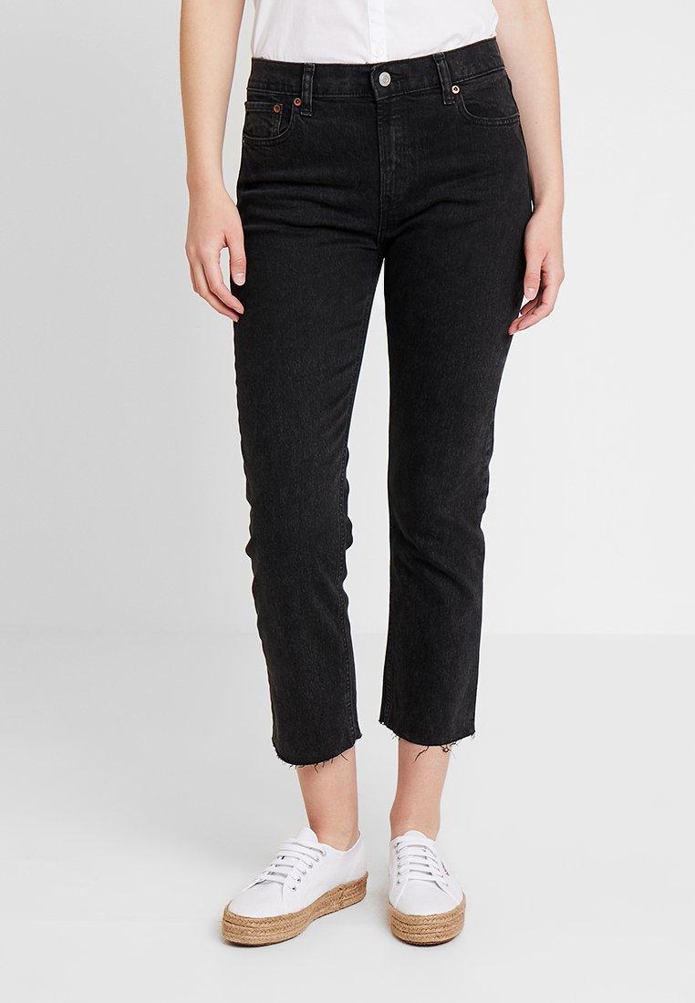 GAP - CHEEKY STRAIGHT - Jeans a sigaretta - black