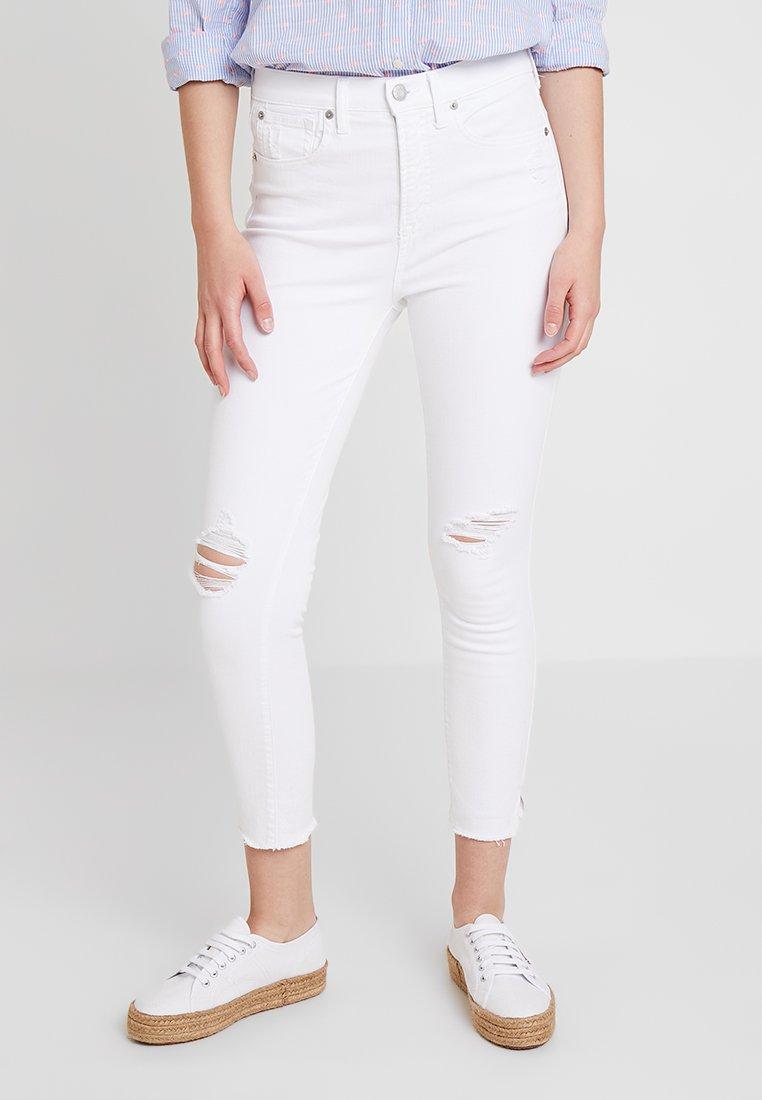 GAP - OPTIC DEST - Jeans Skinny Fit - white destroy