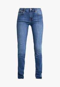 GAP - MED LEILA - Jeans straight leg - medium indigo - 4