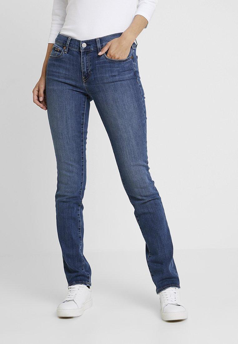 GAP - MED LEILA - Jeans straight leg - medium indigo
