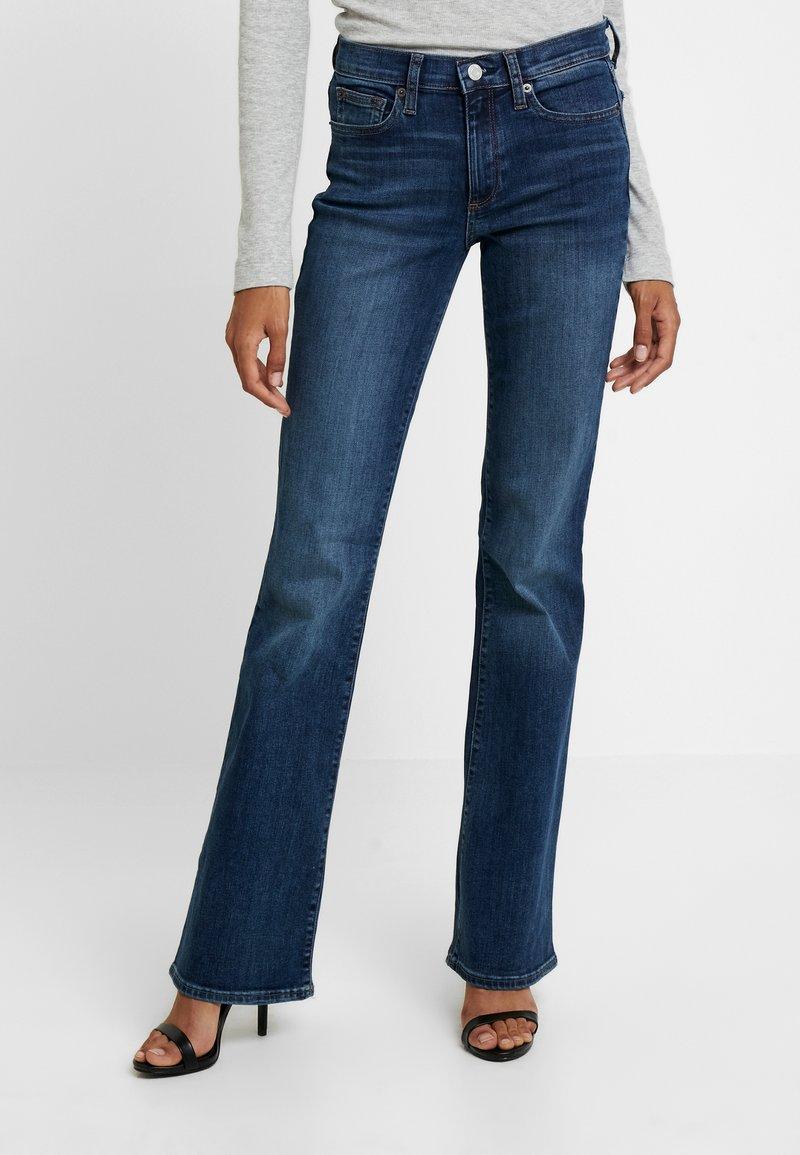 GAP - RICH - Bootcut jeans - dark indigo