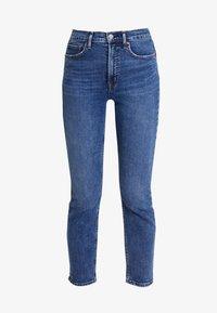 GAP - CIGARETTE TAKE ON ME - Jeansy Straight Leg - dark indigo - 3