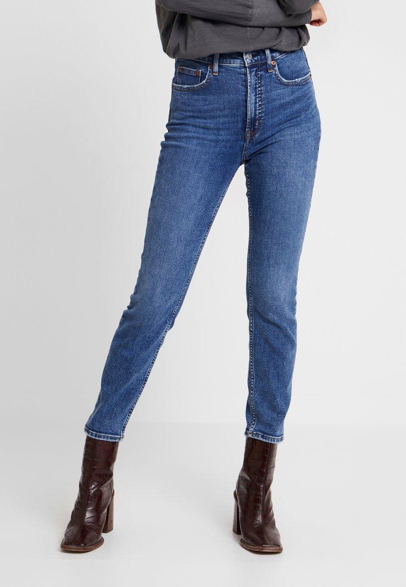 GAP - CIGARETTE TAKE ON ME - Jeansy Straight Leg - dark indigo
