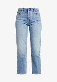 GAP - CHEEKY BLEECKER SHADOW - Jeans Straight Leg - light-blue denim - 3