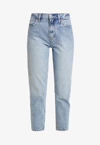 GAP - MOM JEAN WORN - Relaxed fit jeans - light indigo - 4