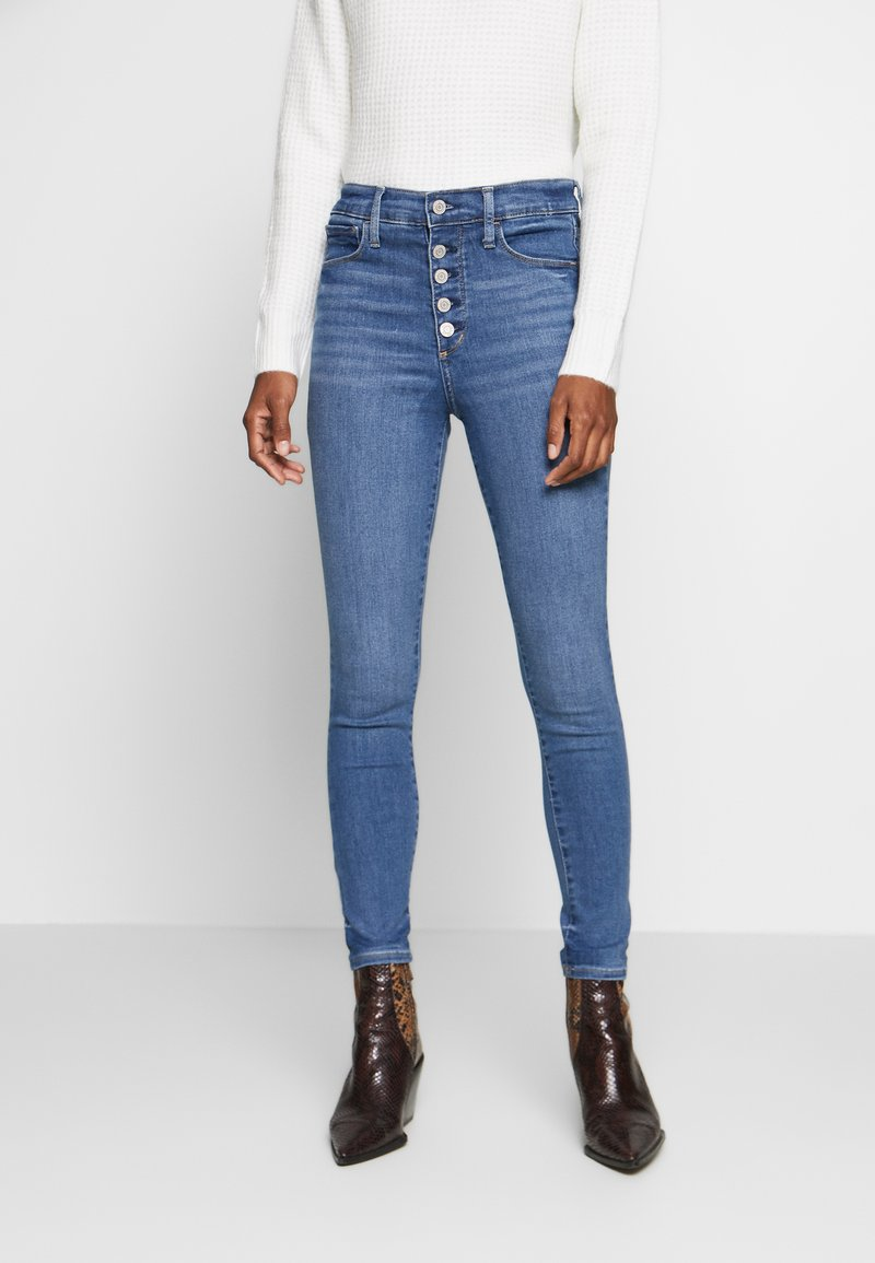 GAP - JEGGING EVERLASTING - Jeans Skinny Fit - medium indigo