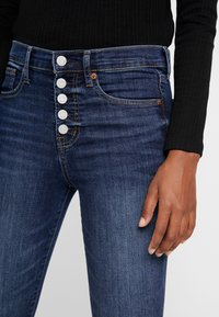 GAP - ANKLE DARE - Jeans Skinny Fit - dark indigo - 4